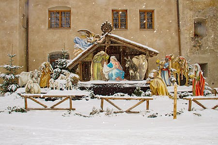 Live Nativity scene of Bàscara