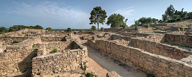 Ullastret Iberian settlement and the indiketes