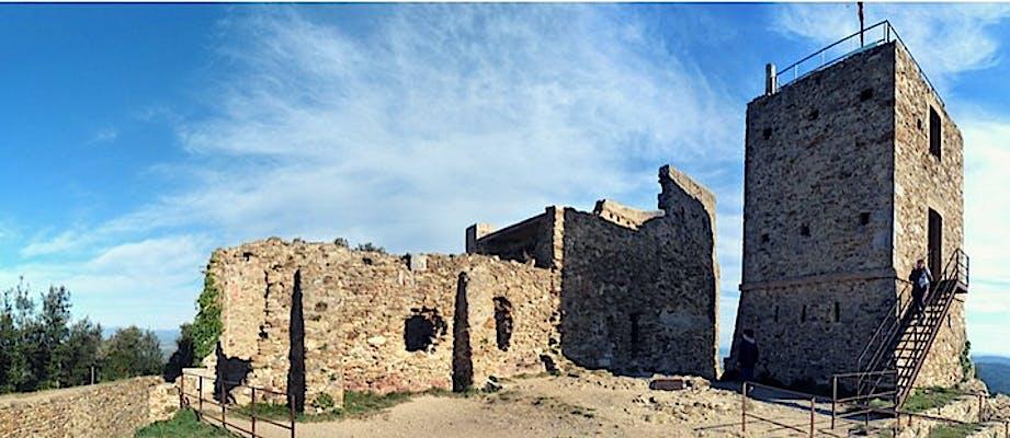 Pujada al castell de Sant Miquel de Girona