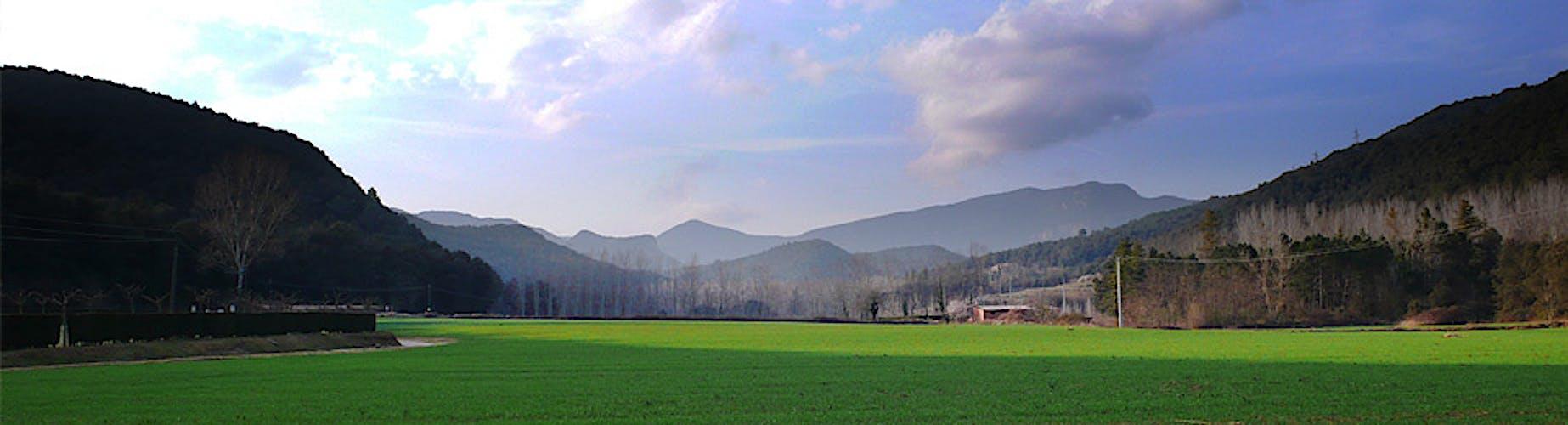 Llémena Valley, nature between El Gironès and La Garrotxa